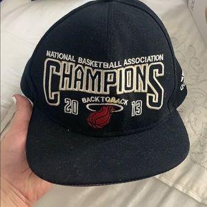 Miami heat champions 2013 Hat